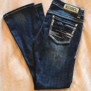 Rock & Roll Cowgirl Jeans - Rock&Roll Cowgirl Rival Low Rise 29x32 Jeans
